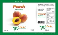 Peach label
